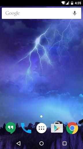 雷雨闪电动态壁纸
