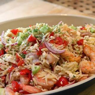 Mediterranean Shrimp and Orzo Salad Recipe