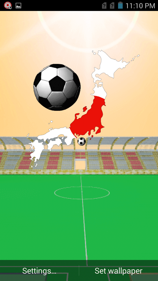 Japan Football Wallpaper- screenshot
