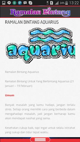 android Ramalan Bintang & Jodoh Screenshot 2