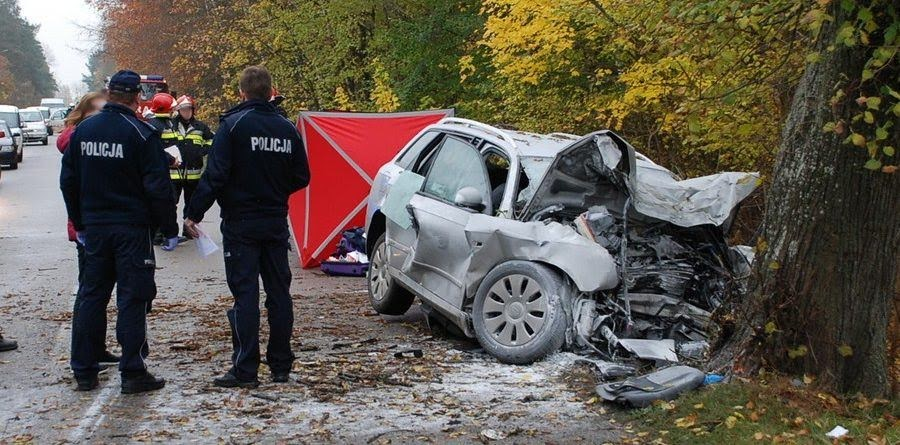 Wypadek na drodze Szczecin