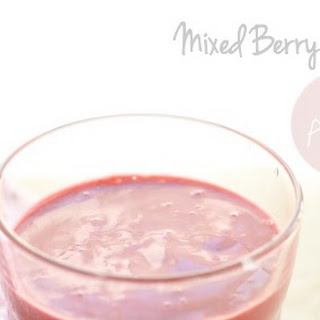 Anti-Aging Mixed Berry Smoothie.