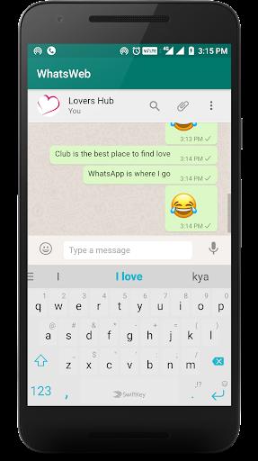 WhatsWeb WebLite for Whatsapp 2.1.1 screenshots 2