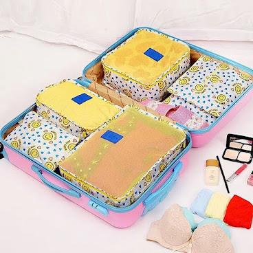 旅行收納袋 (六件裝)👝👛<需預訂>