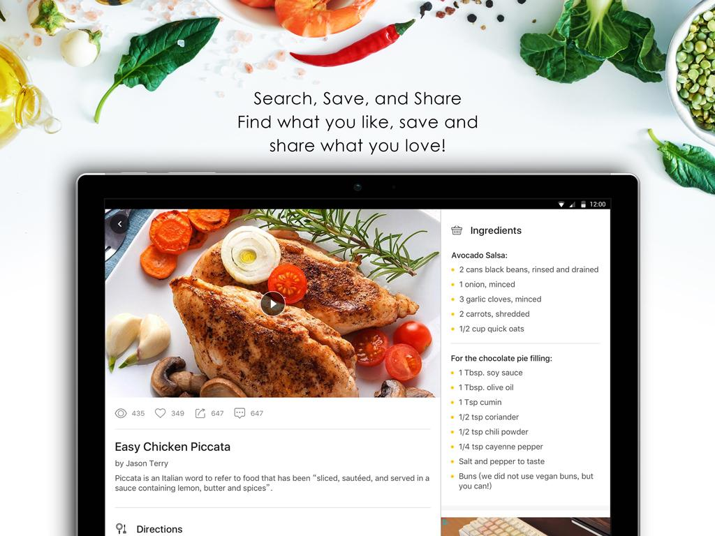 Tasty Recipes & Cooking Videos- screenshot