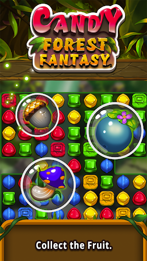 Candy forest fantasy : Match 3 Puzzle  screenshots 4