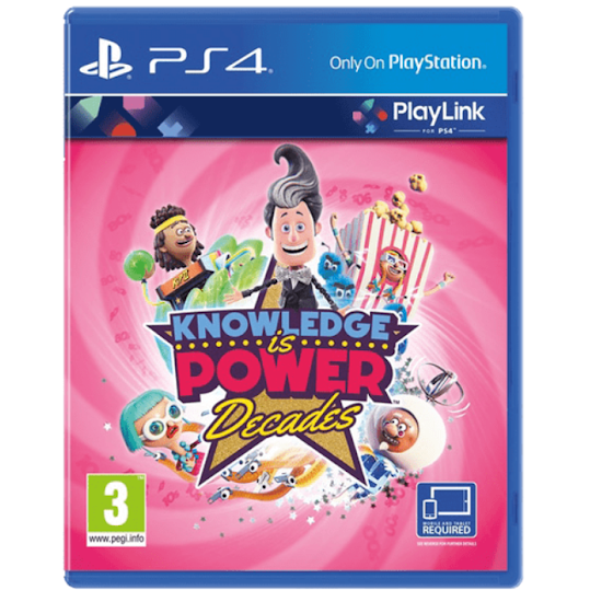 Knowledge is Power Decades - PlayLink (Playstation 4)