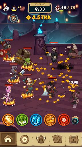 Code Triche Almost a Hero - Idle RPG Clicker APK MOD screenshots 6