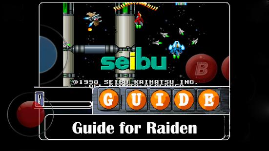 Guide for Raiden(雷電) Ekran Görüntüsü