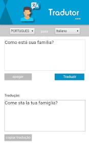 Tradutor - náhled