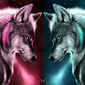 Ice Wolf Wallpaper icon