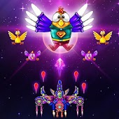 Captain Galaxy Attack: Chicken Alien Space Shooter Android APK Download Free By Piano Music Tiles Studio