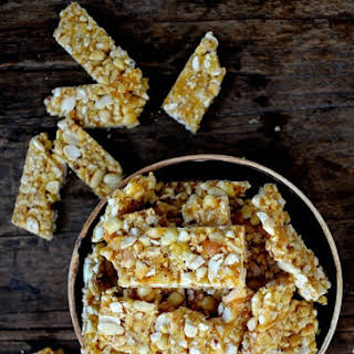 CHINESE SESAME PEANUT BRITTLE.