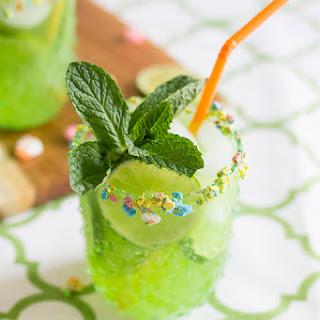 St. Patrick's Day Lucky Leprechaun Rum Punch.