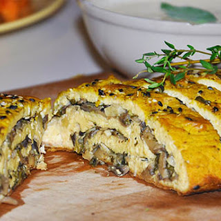 Tofurkey Roulade with Mushrooms Recipe