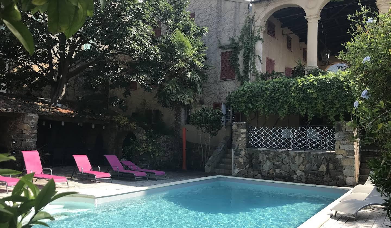 Propriété avec piscine et jardin Calenzana