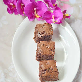 Hot Chocolate Drink Mix Brownies.