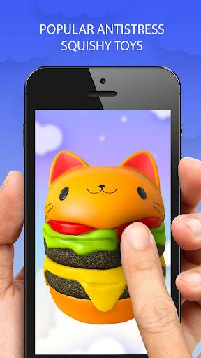 Jouets 3D Squishy kawaii soft stress jeux  captures d'écran 2