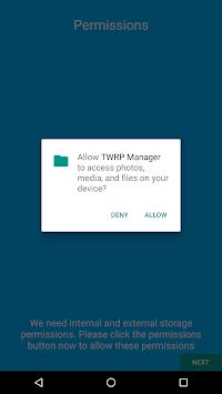 TWRP Manager (Requires ROOT) ดาวน์โหลด apk เวอร์ชั่นล่าสุด - Free