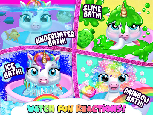 My Baby Unicorn - Cute Rainbow Pet Care & Dress Up 1.0.33 screenshots 20