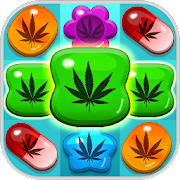 Game Weed Match 3 Candy Jewels - crush all puzzle games APK for Windows Phone