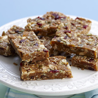 Honey Nut and Seed Bars.
