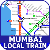 Mumbai Local Route Map & Train Timetable