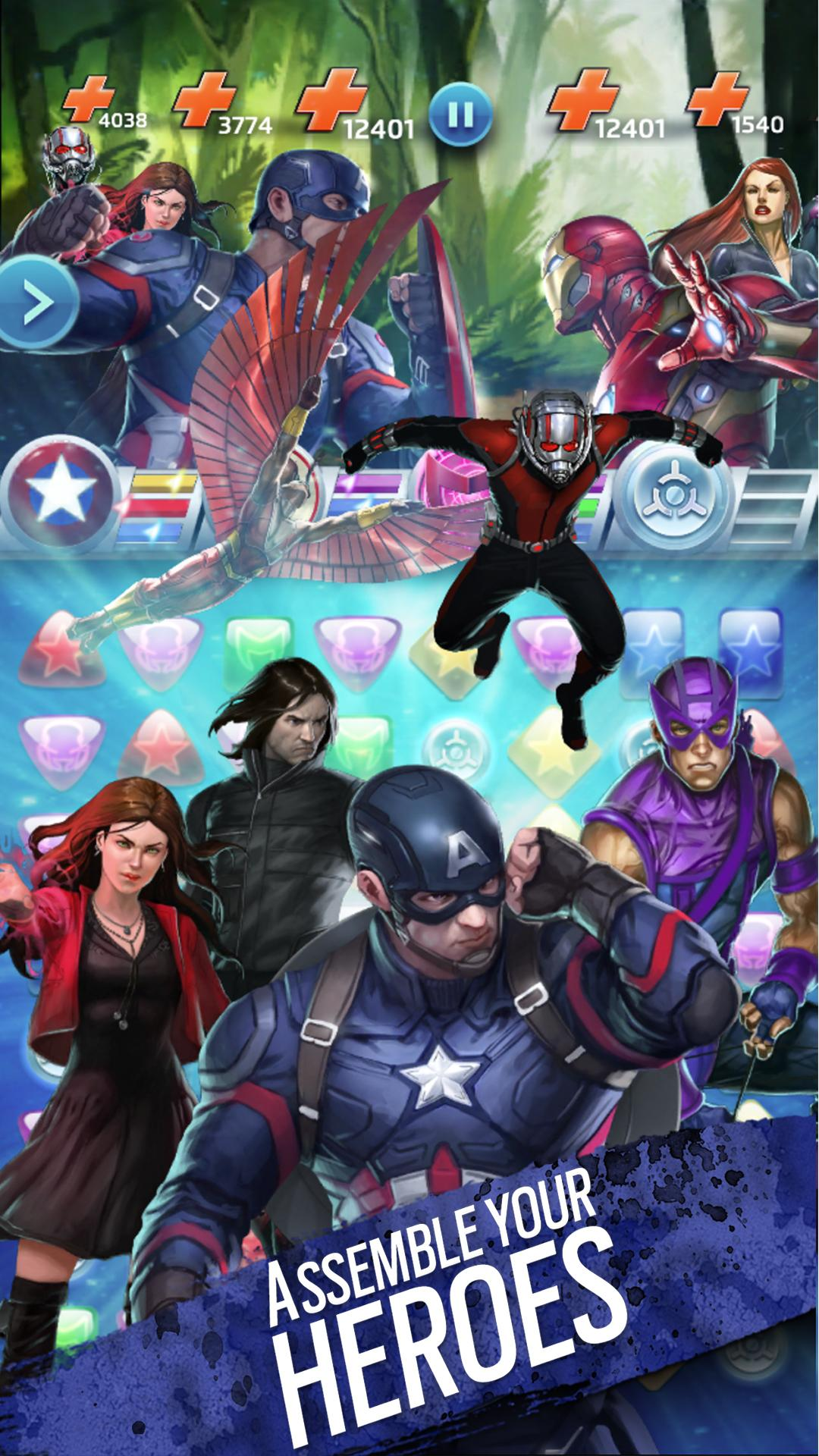 Marvel Puzzle Quest screenshot #10