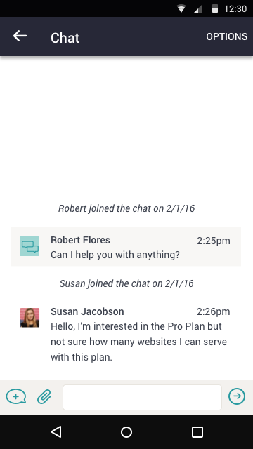 Pure Chat - Live Website Chat- screenshot