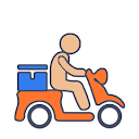 Rollin it, Karol Bagh, New Delhi logo