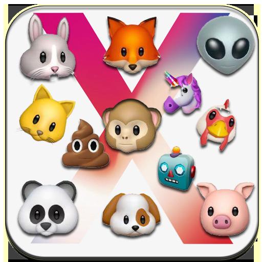 IPHONE X ANIMOJI : 3D EMOJI  +Live Emoji Face Swap (app)