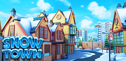 Snow Town - Ice Village World Winter Age APK