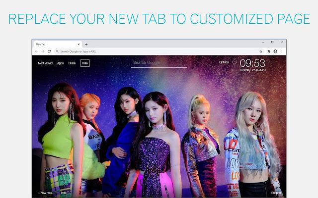 Kpop EVERGLOW Wallpaper HD EVERGLOW New Tab