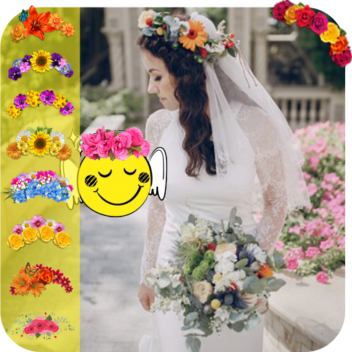 Best Flower Wedding - Crown Hairstyle & Emijo (app)