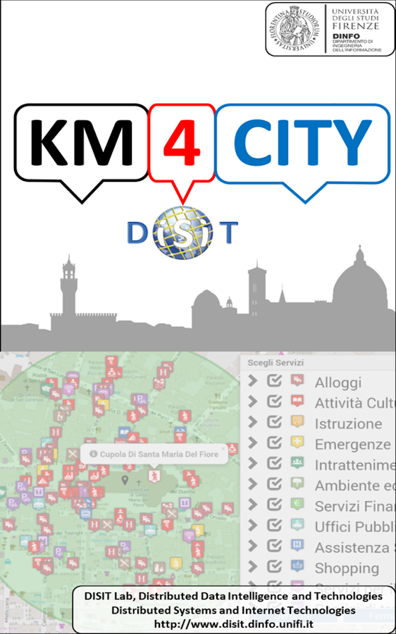 Florence where,what. Km4City- screenshot