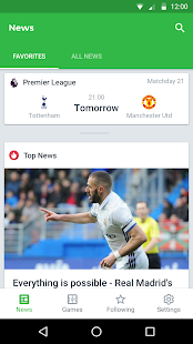 Download Onefootball Live Soccer Scores For PC Windows and Mac apk screenshot 1