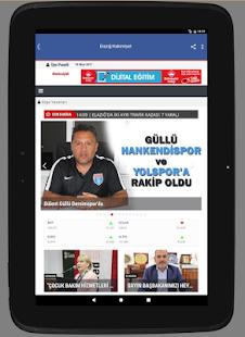 Elazığ Hakimiyet Gazetesi - náhled