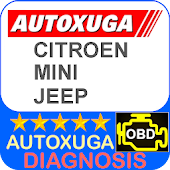Mini, Citroen, Jeep 3 scanner cars OBD2 ELM327