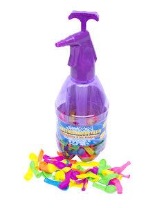 Vattenballonger i flaska, lila