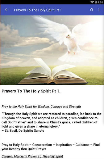 HOLY SPIRIT PRAYERS - Apps on Google Play