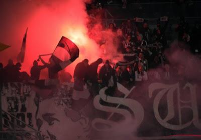 Les joueurs de Charleroi ont été chaudement reçu à leur retour de Bruges