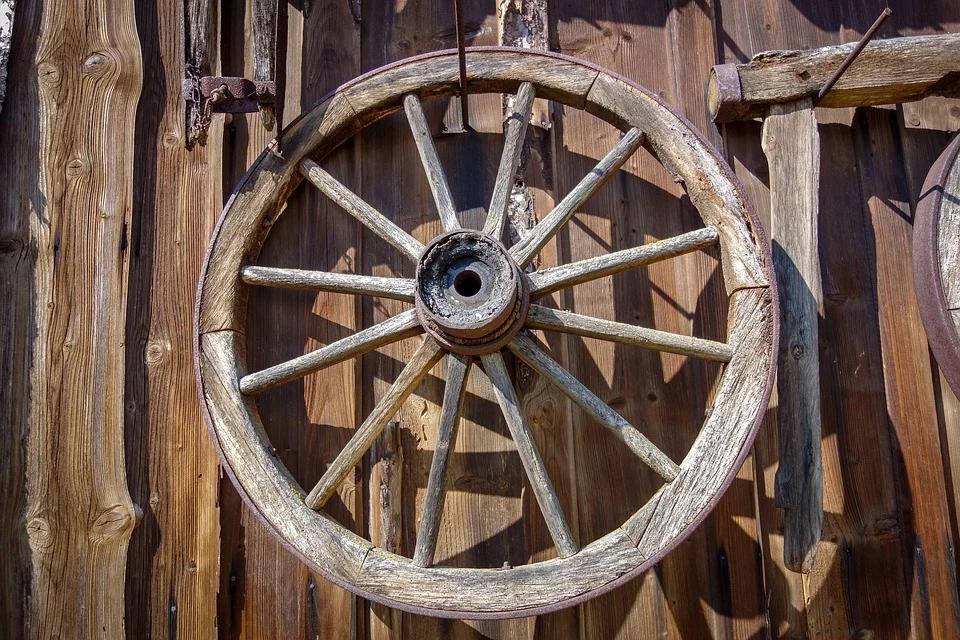 Изготовление колес для декоративной телеги своими руками