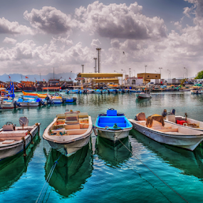 Adventure at Musandam by Braggart Reigh - Landscapes Waterscapes ( clouds, boats, travel, transportation, waterscapes,  )