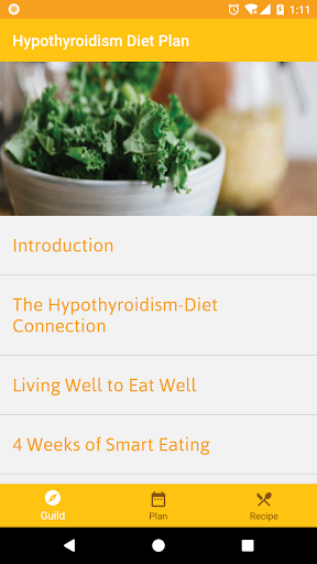 Screenshot for Hypothyroidism Diet Plan in United States Play Store