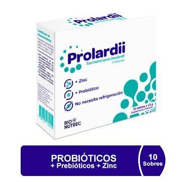 Prolardii x 10 Sobres   Pharmetique Saccharomyces
