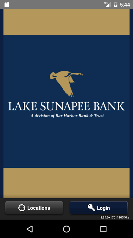 Lake Sunapee Bank- screenshot