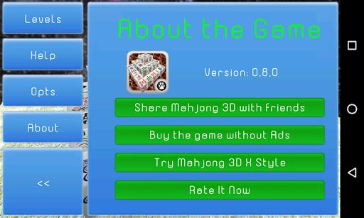 Mahjong 3D Cube Solitaire 1.0.0.1 screenshots 6
