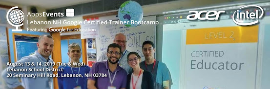 Google Certified Trainer Bootcamp Lebanon New Hampshire