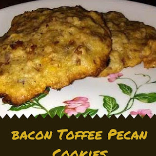 Bacon Toffee Pecan Cookies