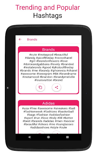 Premium Hashtags: Increase Likes & Followers ?? screenshot 16